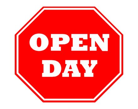 Open Day - 17 July 2018