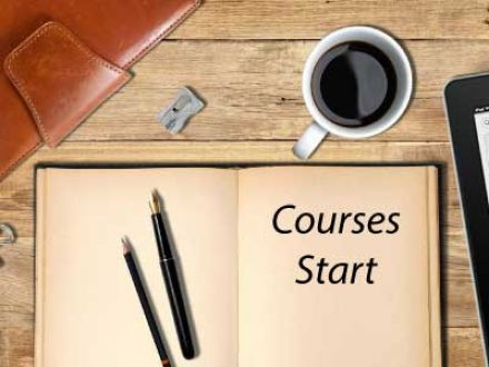 Courses Start - Level 3 - September 2018